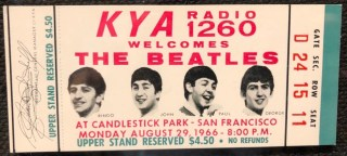 1966 The Beatles Candlestick Park 700