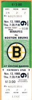 1980 NHL Jets at Bruins