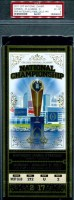 2017 National Championship Clemson vs Alabama ticket stub