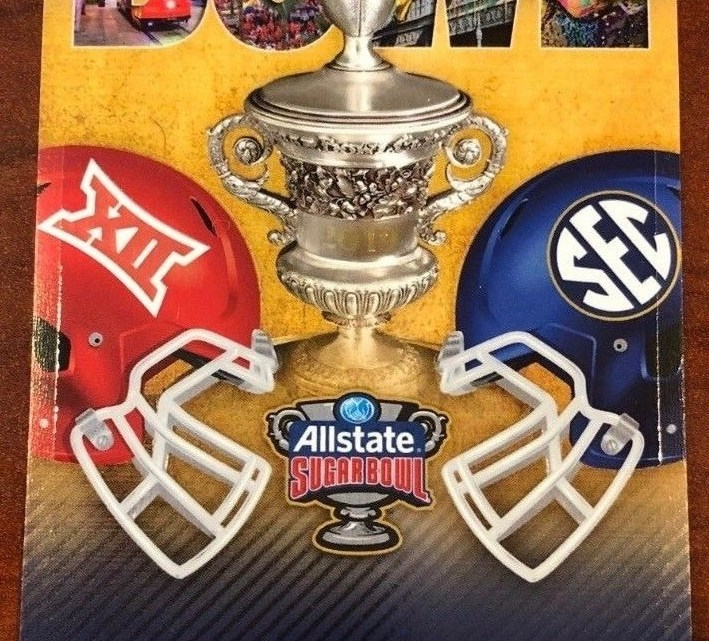 2019 Sugar Bowl Ticket Stub Texas vs Georgia