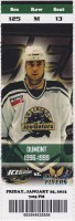 2013 SPHL Louisiana IceGators ticket stub vs Pensacola