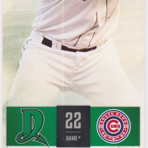 2015 Dayton Dragons ticket stub vs South Bend for sale