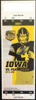 2019 NCAAF Iowa Hawkeyes ticket stub vs Penn State