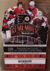 2008 Philadelphia Flyers Opening Night ticket stub