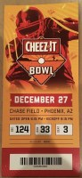 2019 Cheez It Bowl Ticket Stub Washington State vs Air Force