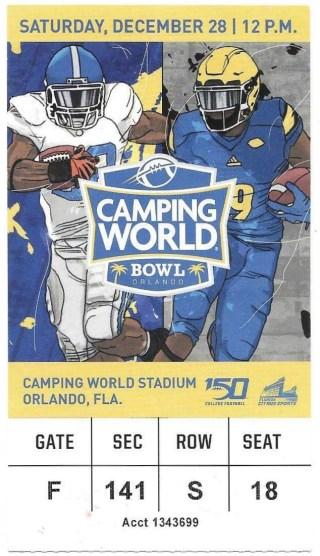 2019 Camping World Bowl  Notre Dame vs Iowa State
