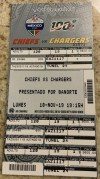 2019 Chiefs vs Chargers Mexico City Ticket Stub