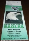 1995 NFC Wild Card Game ticket stub Eagles Lions