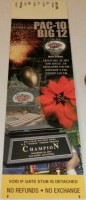 2001 Holiday Bowl ticket stub Washington vs Texas