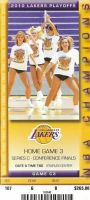 2010 NBA Western Conference Final Game 5 ticket stub Lakers Suns