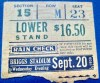 1939 Boxing Ticket Stub Joe Louis vs Bob Pastor