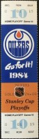 1984 Stanley Cup Final Game 4 ticket stub Islanders Oilers