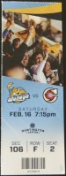 2019 ECHL Toledo Walleye ticket stub vs Cincinnati