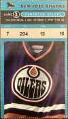 1997 Patrick Marleau debut ticket stub