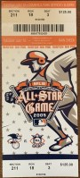 2005 MLB All-Star Game ticket stub Detroit