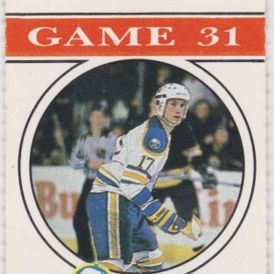 1988 Double Hat Trick ticket stub Nords at Sabres Feb 21 Sheppard Stastny