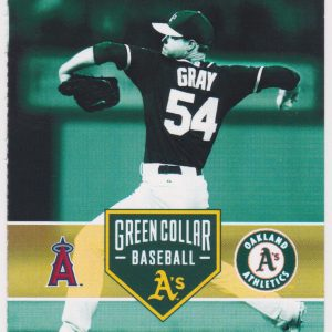 2015 Athletics Full Ticket vs Angels Apr 29 Mike Trout HR