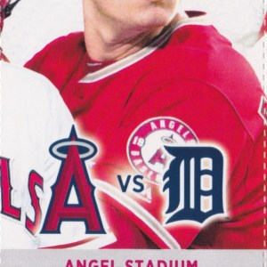2017 Angels Full Ticket vs Tigers May 12 Mike Trout