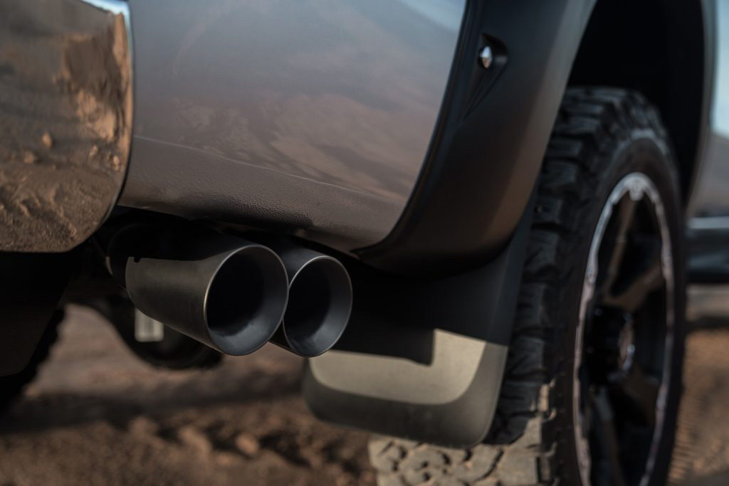 ranger side outlet exhaust tickford