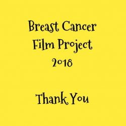 Contributors to Breast Cancer Film Project 2018