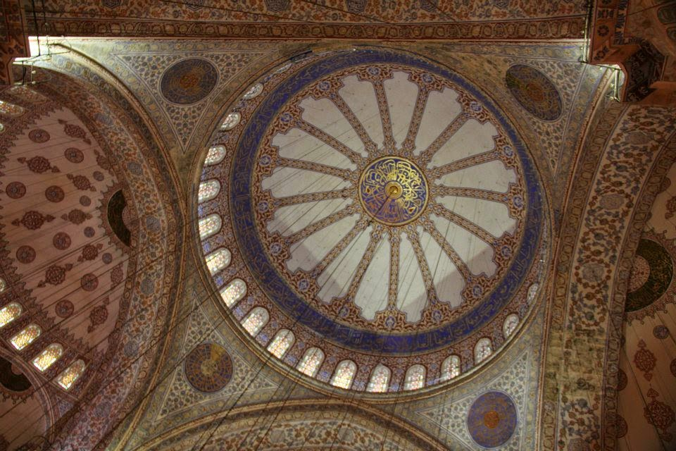 Istanbul: Interiors of the Blue Mosque