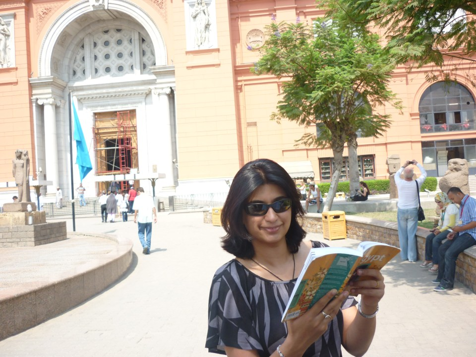 Cairo: Egyptian Museum... Lonely Planet to the rescue... always!