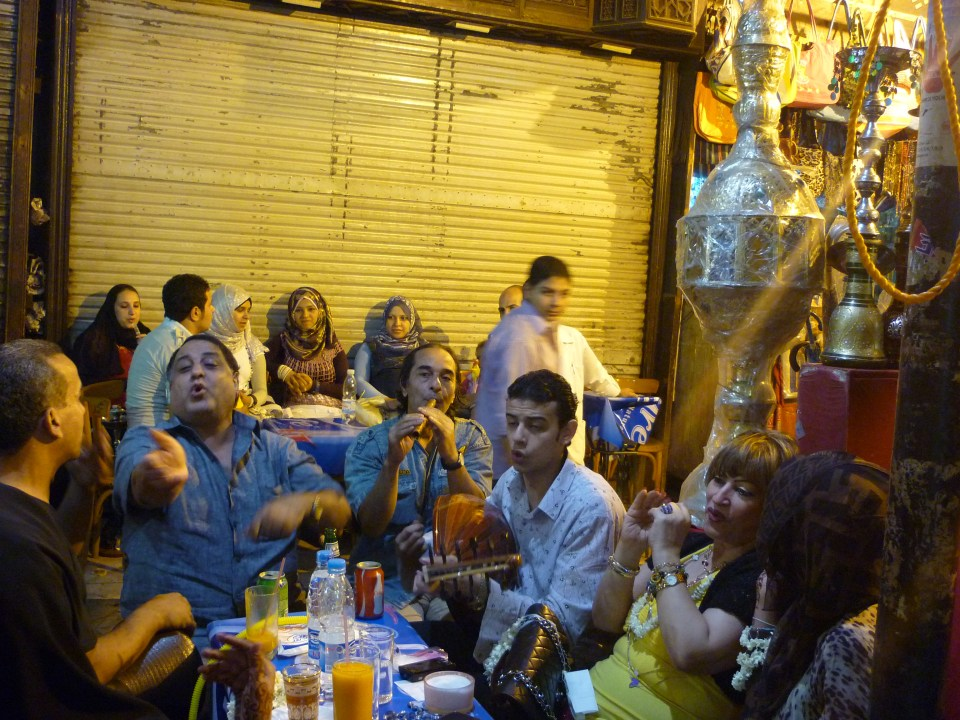 Cairo: Making merry on Eid