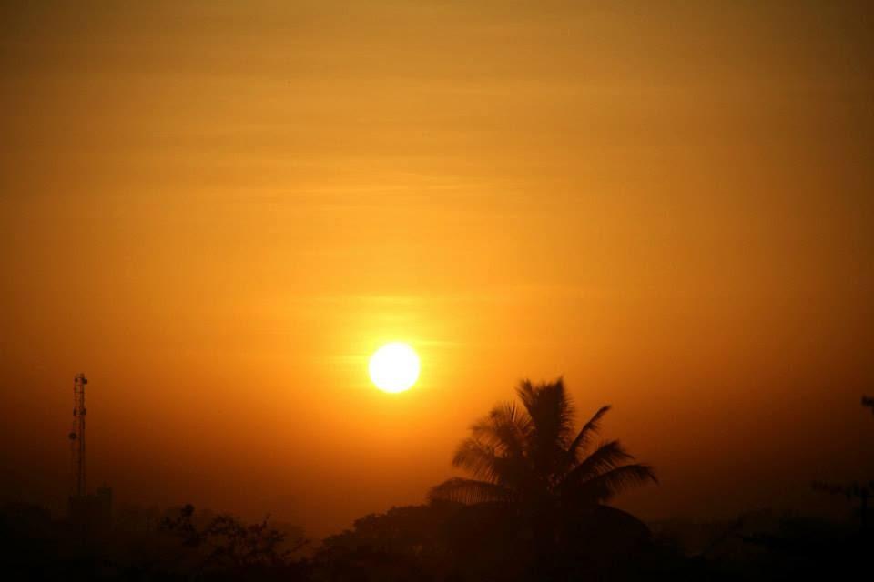 Bhigwan: Sunrise