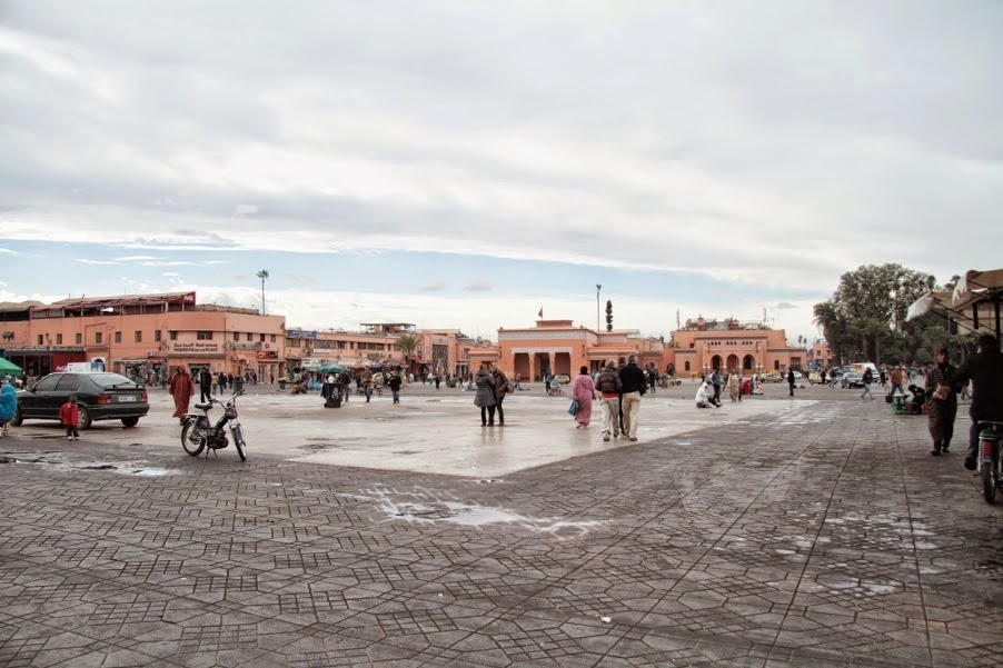 Marrakech: Djemma El Fna during the day