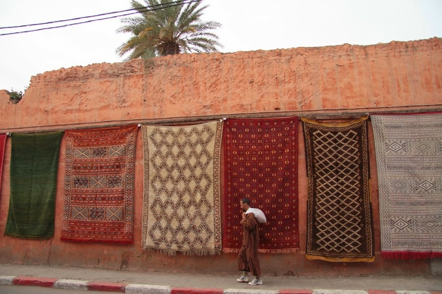 Marrakech: Find the 'Magic Carpet'!