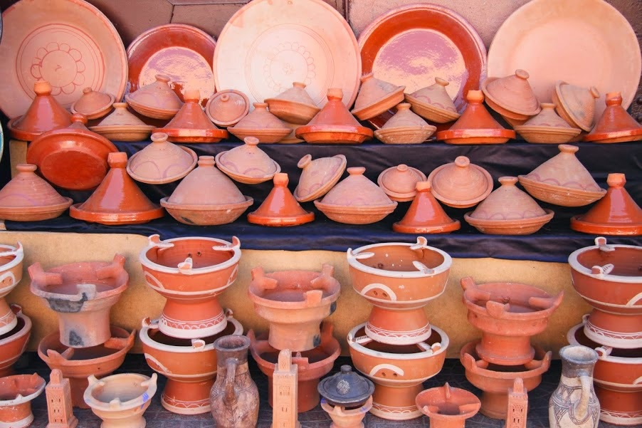 Marrakech: Tagine pots