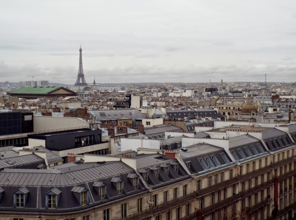 View from room garden at Galeries Lafayette