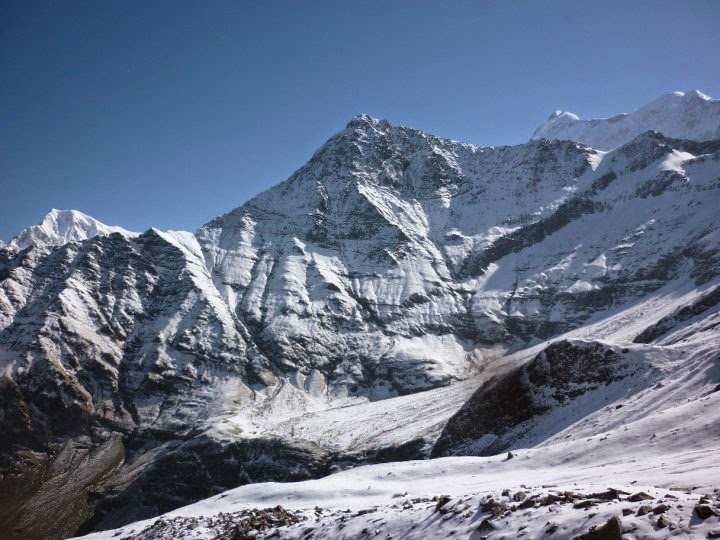 Heights to scale....mountains to climb...the majestic Himalayas