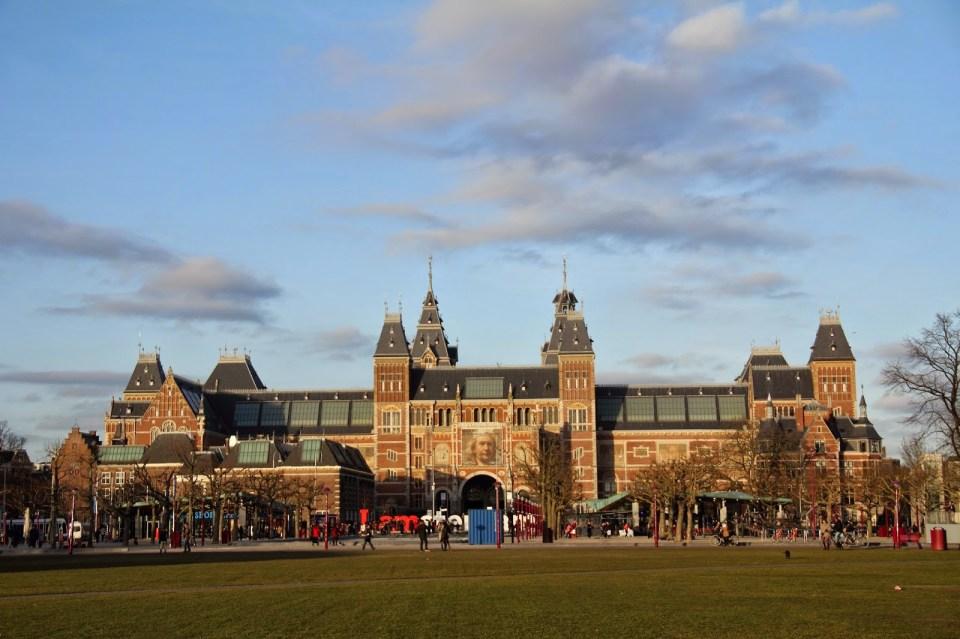 Museum Square in Amsterdam