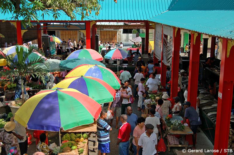 Local  market at Victoria