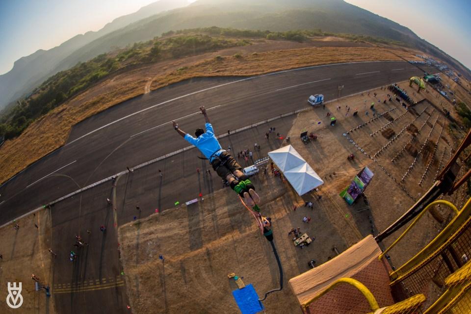 Bungee jumping is on Ankur's bucketlist