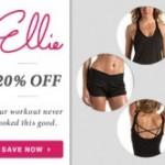 Save 20% off Ellie Activewear