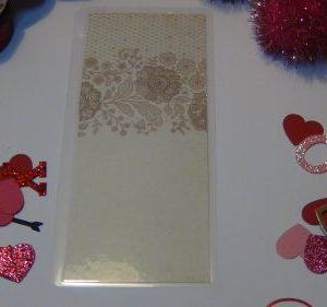 Vintage Floral Bookmark
