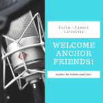 Hello Anchor Friends!