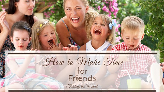 There's nothing like having a good, supportive system of friends, but they can often get pushed to the back burner when life gets stressful. Even though that may be the time when you need your friends the most, making time for friends may seem like the last thing that you can possibly handle. Even when time is not on your side, here's how you can make more time for friends.