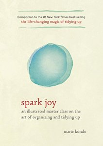 Spark Joy is a must-read for everyone who wants to declutter and tidy their homes.