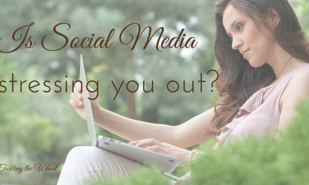 Is Social Media Stressing You Out?