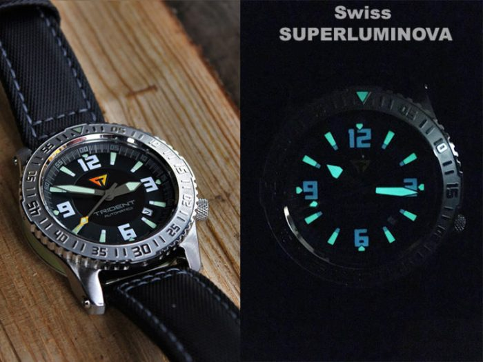 GallioTempo Trident - Swiss Super-LumiNova