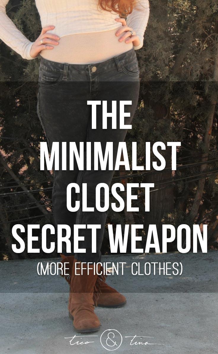 The Minimalist Closet Secret Weapon Tico Tina
