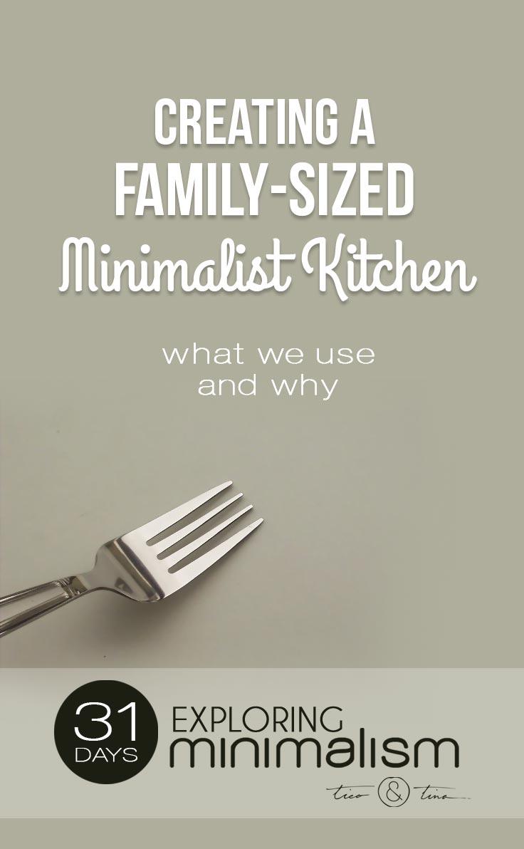 My Perfect Minimalist Kitchen for a Family - Tico ♥ Tina