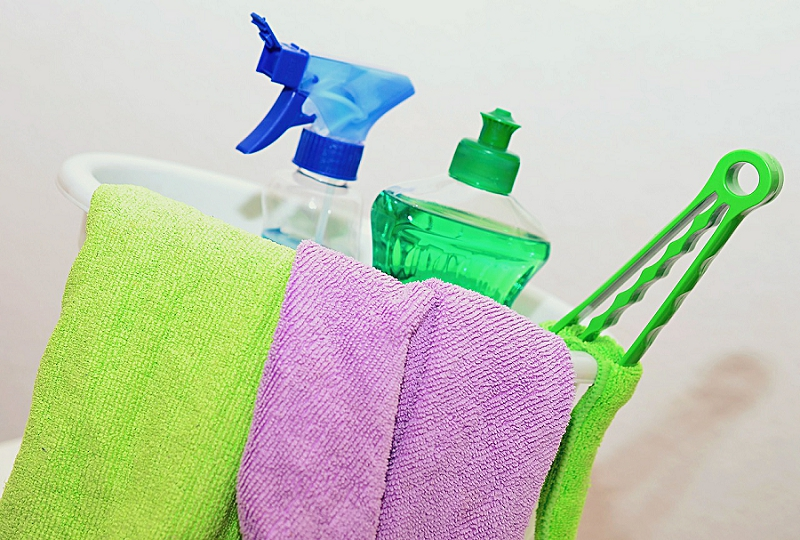 Declutter Your Bathroom & Laundry Room: 8 Things to go !   - get rid of cleaning supplies