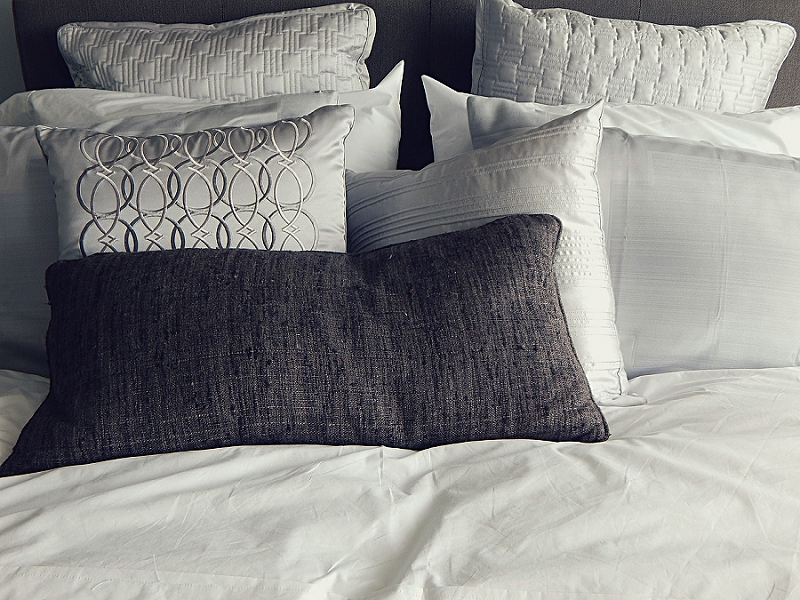 How to Declutter a Bedroom & Closet - get rid of pillows