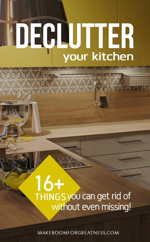 16+ Things to Get Rid of to Reduce Kitchen Clutter