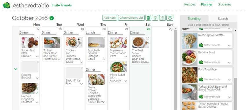 10 tools that will help you crush weekly meal planning | how to plan meals, how to meal plan, easy meal plans | gatheredtable review