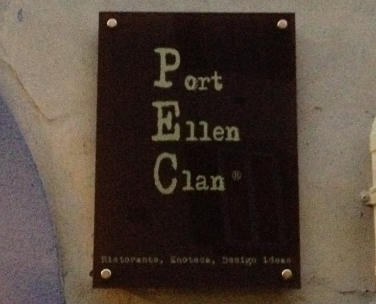 Port Ellen Clan, passione e design in Via del Fosso
